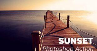 4photoshopir-Action-sunset-اکشن غروب افتاب