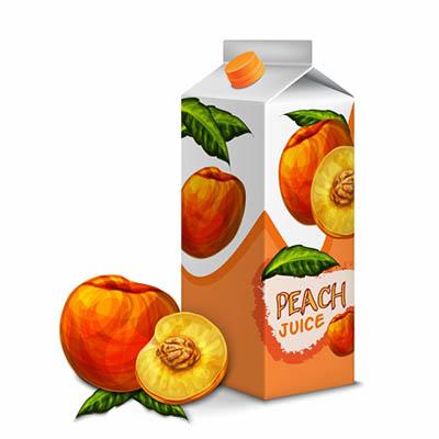 4photoshopir-Peach-vector-pack2-وکتور هلو پک2