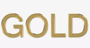 استایل طلایی 80 عددی فتوشاپ