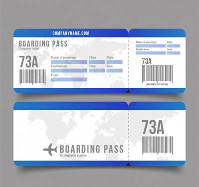4photoshopir-Ticket-Airplane-vector-pack1-وکتور بلیط هواپیما پک1
