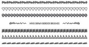4photoshopir-brush-Border-pack5-براش حاشیه پک5