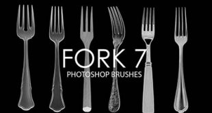 4photoshopir-brush-Fork-pack2-براش چنگال پک2
