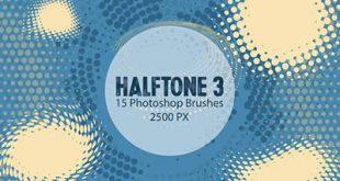 4photoshopir-brush-Halftone-pack1-براش هافتون پک1