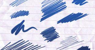 4photoshopir-brush-Scribble-pack1-براش مداد پک1