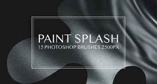 4photoshopir-brush-Splatter-pack3-براش پاشش رنگ پک3