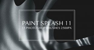 4photoshopir-brush-Splatter-pack4-براش پاشش رنگ پک4
