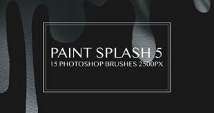 4photoshopir-brush-Splatter-pack7-براش پاشش رنگ پک7