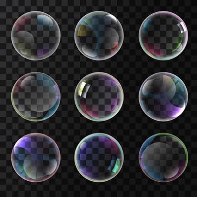 4photoshopir-bubbles-vector-pack1-وکتور حباب آب پک1