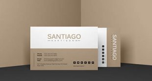 4photoshopir-business-card-mockup-pack419-موکاپ کارت ویزیت پک419