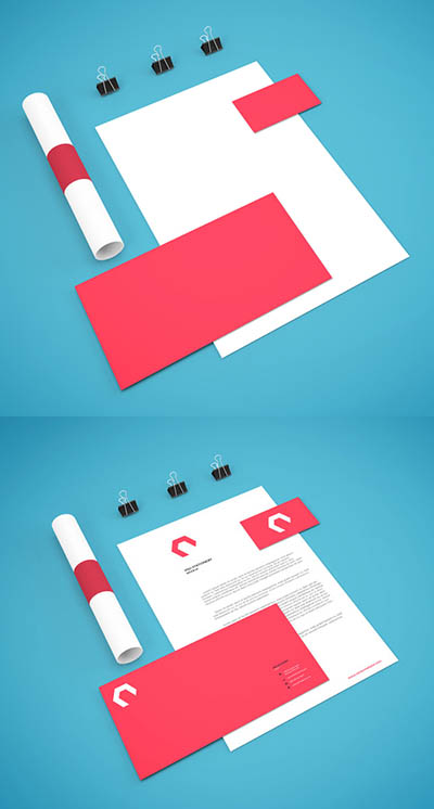 4photoshopir-business-set-mockup-pack8-موکاپ ست اداری پک8