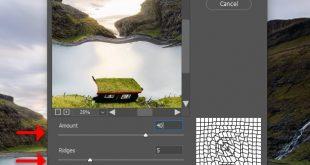 4photoshopir-distort-pic4-آموزش فیلتر ها در فتوشاپ بخش سوم