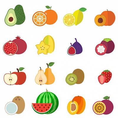 4photoshopir-fruits-vector-pack2-وکتور میوه پک2