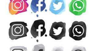آیکون شبکه های اجتماعی پک5