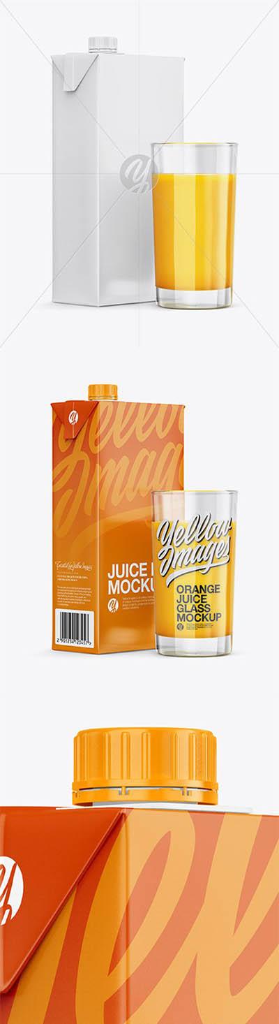 4photoshopir-packing-mockup-Carton-Juice-موکاپ پاکت آبمیوه