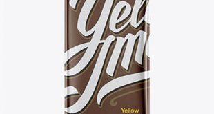 موکاپ شکلات تخته ای