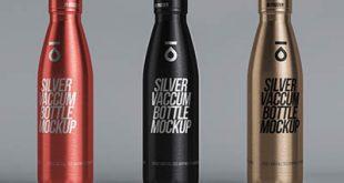 موکاپ بطری آب آهنی