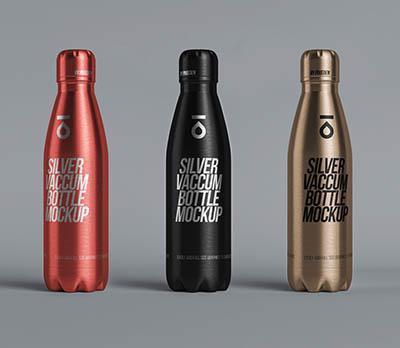 4photoshopir-packing-mockup-Silver-Bottle-موکاپ بطری آب آهنی