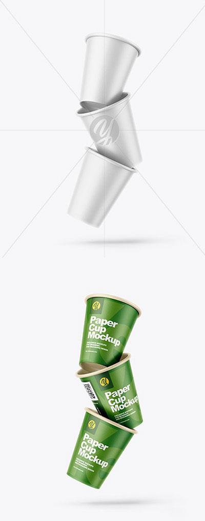 موکاپ لیوان کاغذی