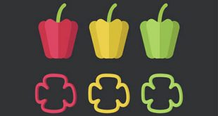 4photoshopir-pepper-vector-pack2-وکتور فلفل پک2